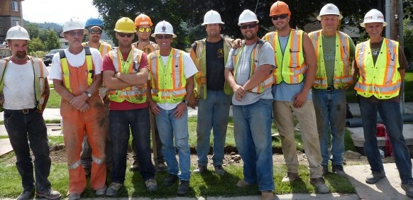 LiUNA Local 1611, union members, road construction
