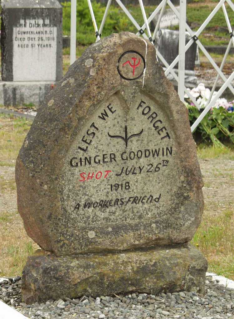 Ginger Goodwin, Local 1611, labour movement
